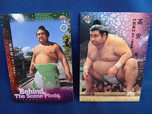大相撲カード 高安