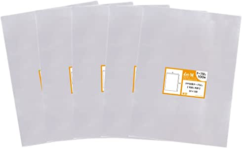 【国産】テープなし 【ぴったりサイズ】 写真L判/写真スリーブ用 透明OPP写真袋【500枚】91x130mm (500)