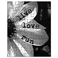 CafePress–Live Love Run by Vetroジュエリー&デザイン–ジグソーパズル、30個。