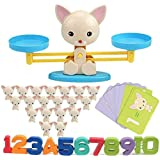 Cool Math Game,Puppy Balance Counting Toys for Boys & Girls Educational Number Toy Fun Children's Gift STEM Learning Age 3+ (