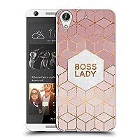 オフィシャルElisabeth Fredriksson Boss Lady タイポグラフィ HTC Desire 626 専用ソフトジェルケース