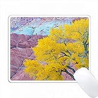 アメリカ、ユタ州、キャピトルリーフ国立公園、コットンウッドツリー。類似イメージの検索入手可能性: PC Mouse Pad パソコン マウスパッド