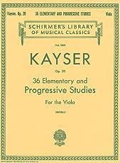 36 Elementary And Progressive Studies