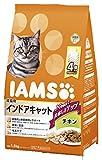 アイムス (IAMS) キャットフード 成猫用 インドアキャット チキン 1.5kg×6個 (ケース販売)
