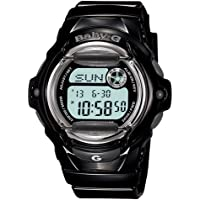 Casio Baby G Women BG169R-1 Year-Round Digital Automatic Black Watch
