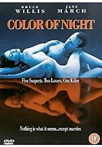 Color of Night [DVD] [Import]