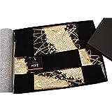 和風 着物テーブルセンター リバーシブル 金襴織 帯 箱入り 包装済 海外向ギフト (雅)