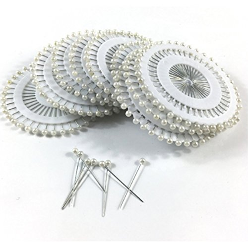 [해외]LIKEME 진주 머리 핀 화이트 볼 헤드 핀 장식 진주 그랬 핀 바느질 핀 양재사 베리 핀 다기능 핀 벌레 핀 480 개들이/LIKEME pearl head pin white ball head pin accessory pearl corsage pin sewing pin dress manufacturer berry pin multifuncti...