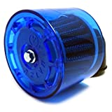 (maxima★select) 35φ カバー 付き 雨天 対応 パワーフィルター エアクリーナー L字型 バイク 汎用 ヤマハ スズキ カワサキ ホンダ など