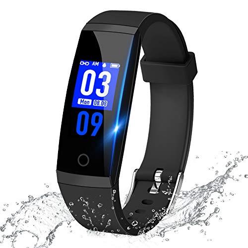 【最新版】 スマートウォッチ 血圧計 心拍計 歩数計 多機能...