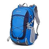 マウンテントップ(Mountaintop) バックパック 40L / 25Lリュック 登山 ザック アウトドア 旅行用 バッグ リュックサック 防水 軽量 レインカバー付き