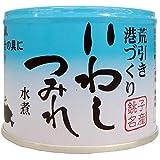 信田缶詰 いわしつみれ水煮 190g×4個