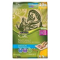 フリスキー猫Chow Naturals Indoor Dry Cat Food 13 lb. Bag 17162