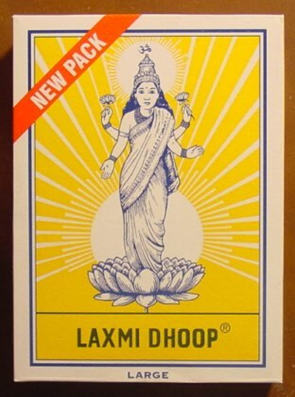 見かけ上経由で重要性Laxmi Dhoop Sticks – ボックスof 12パック、8 Sticks各