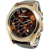 (エンポリオアルマーニ) EMPORIO ARMANI エンポリオアルマーニ 時計 メンズ EMPORIO ARMANI AR1701 CLASSIC クラシック 腕時計 ウォッチ ブラウン/ゴールド[並行輸入品]