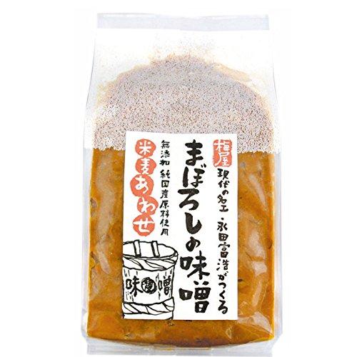 ヤマウチ 無添加 まぼろしの味噌 米麦あわせ 1kg