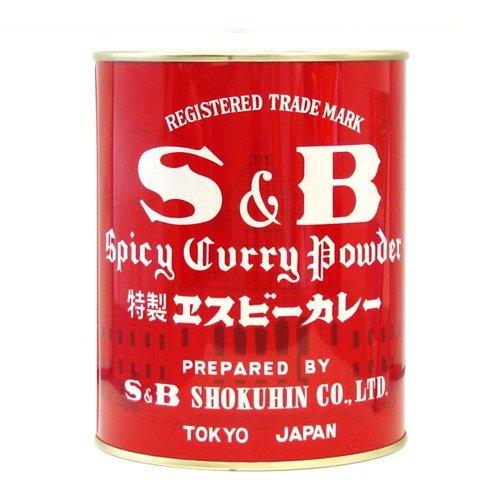 S&B 特製エスビーカレー 缶400g×12個