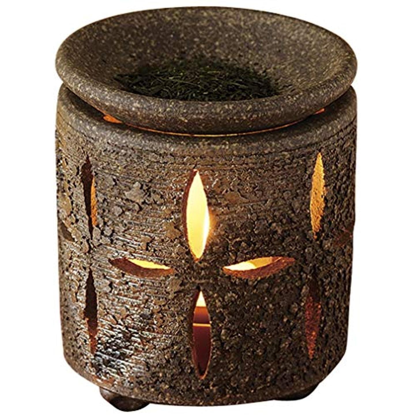 粘性の励起近くYI--Y-1616 常滑焼 茶香炉 径10×高さ11cm