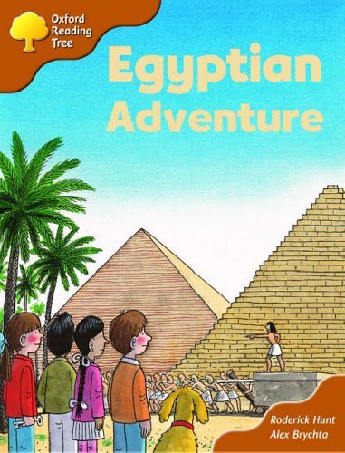 Oxford Reading Tree: Stage 8: More Storybooks (magic Key): Egyptian Adventureの詳細を見る