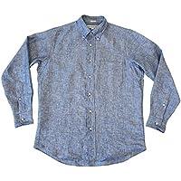 INDIVIDUALIZED SHIRTS インディビジュアライズド シャツ LINEN B/D STANDARD FIT SHIRT リネン スタンダードフィットシャツ
