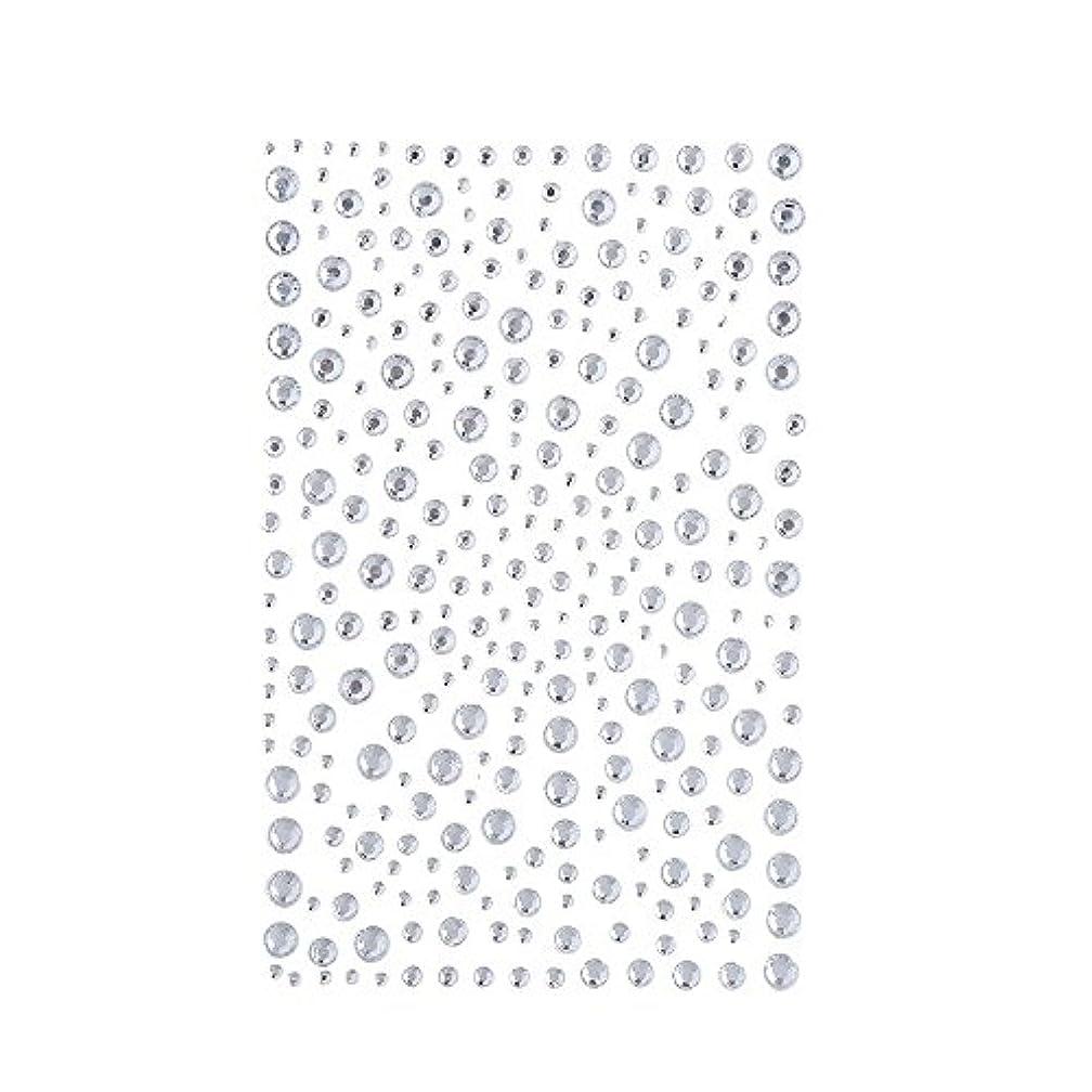 レンド必要ない加入ラインストーン 人工ダイヤモンド スワロフスキー ホットフィックス 325粒 (白)