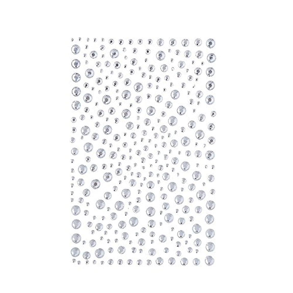 汚物うがい悪意のあるラインストーン 人工ダイヤモンド スワロフスキー ホットフィックス 325粒 (白)