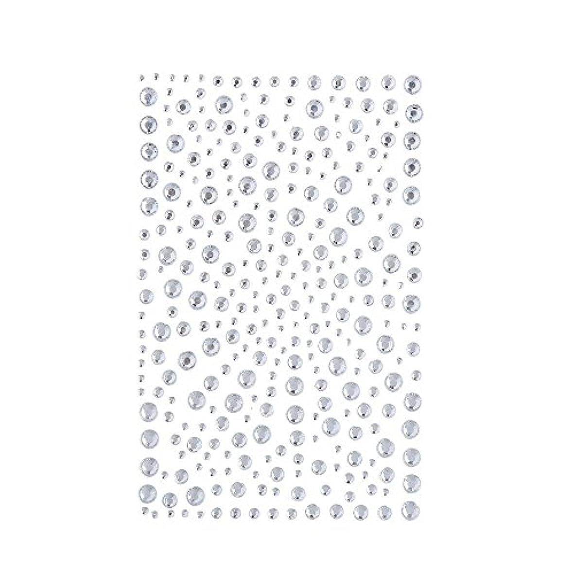 硬さフラスコ競合他社選手ラインストーン 人工ダイヤモンド スワロフスキー ホットフィックス 325粒 (白)