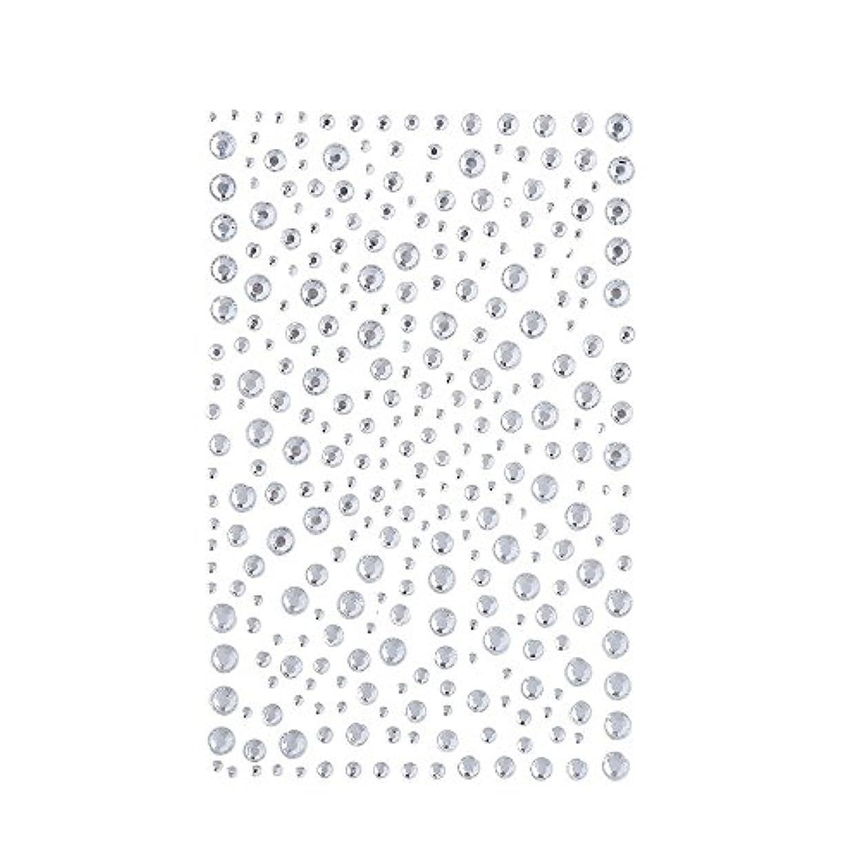 キー背骨冒険ラインストーン 人工ダイヤモンド スワロフスキー ホットフィックス 325粒 (白)