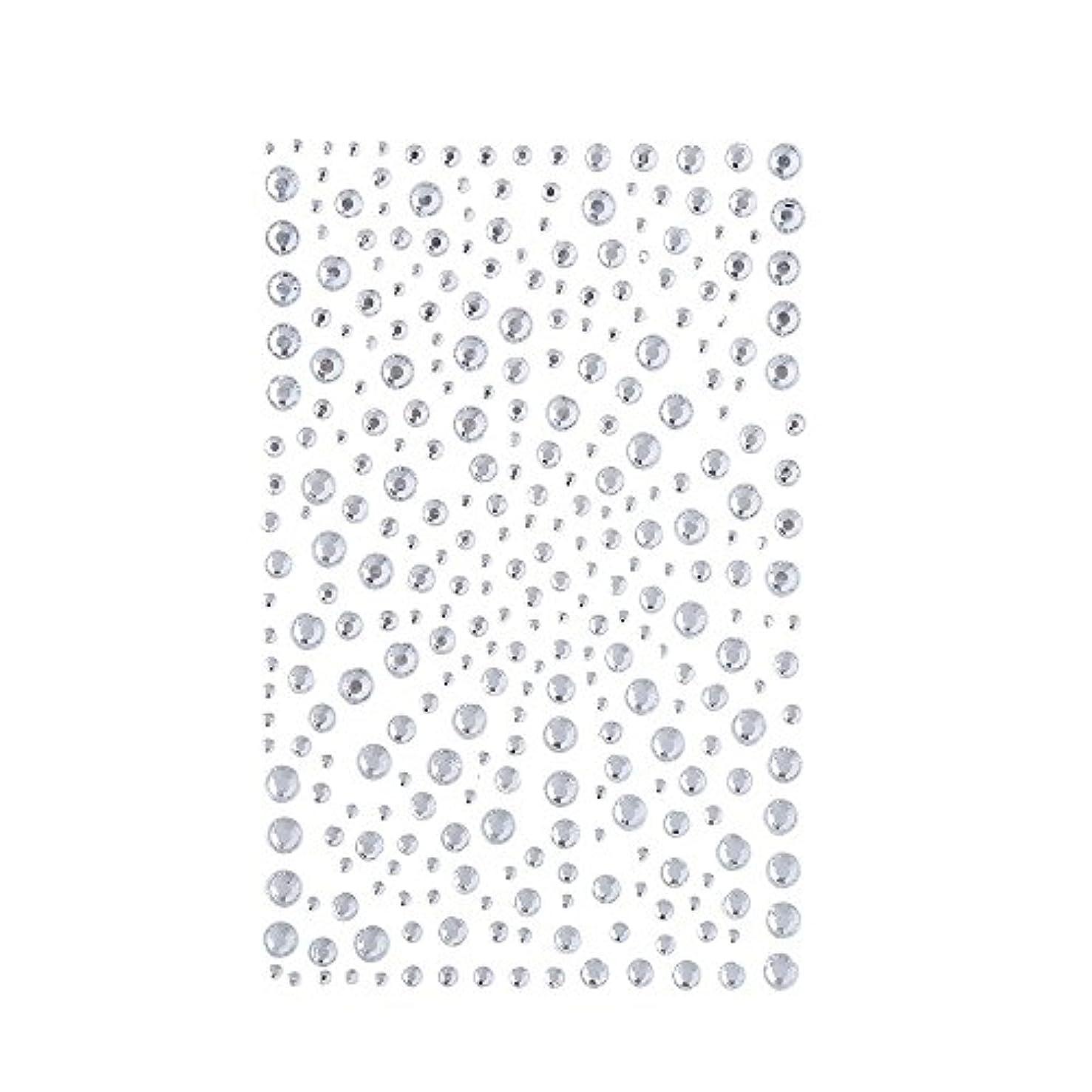 ラインストーン 人工ダイヤモンド スワロフスキー ホットフィックス 325粒 (白)