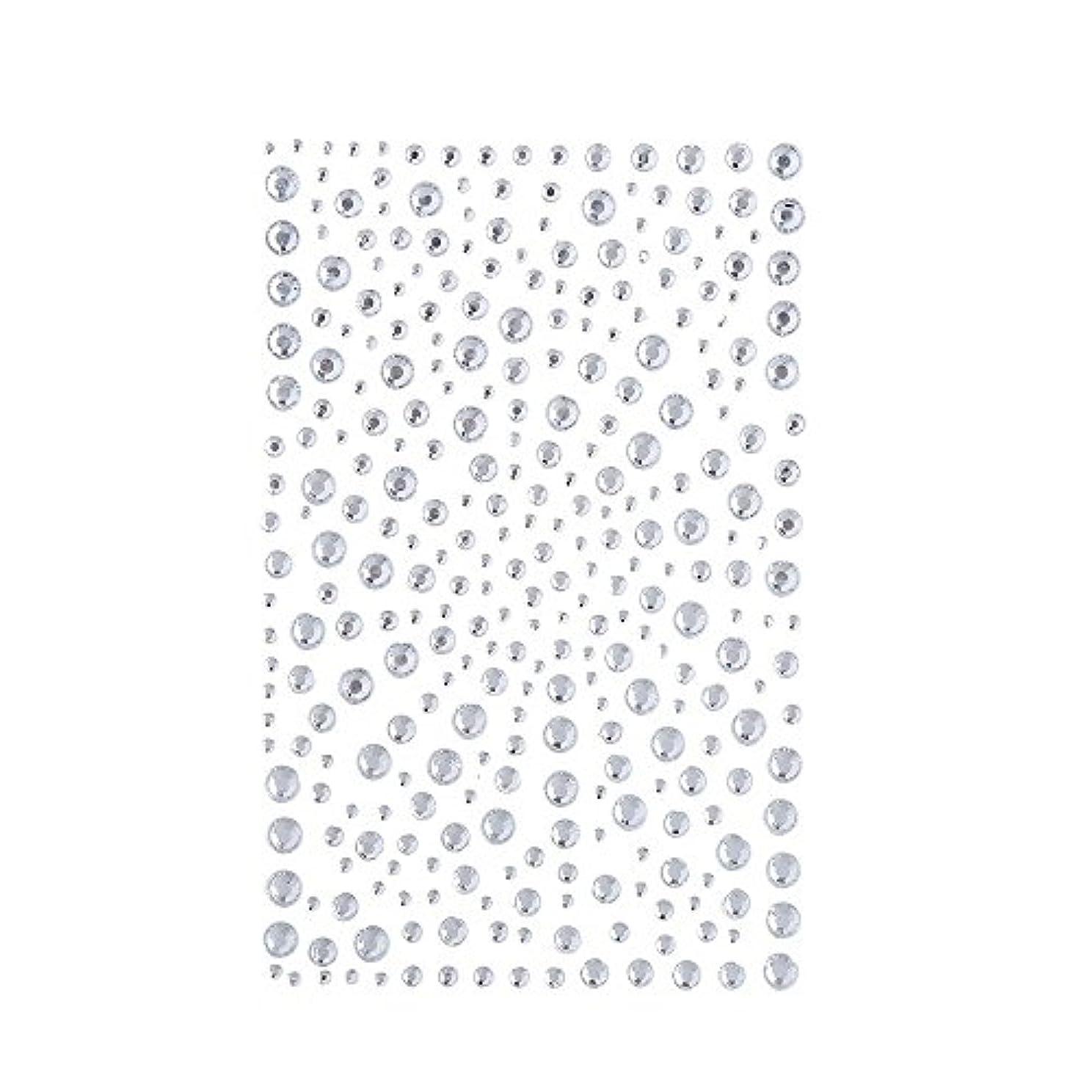 安全でないブラケット同じラインストーン 人工ダイヤモンド スワロフスキー ホットフィックス 325粒 (白)