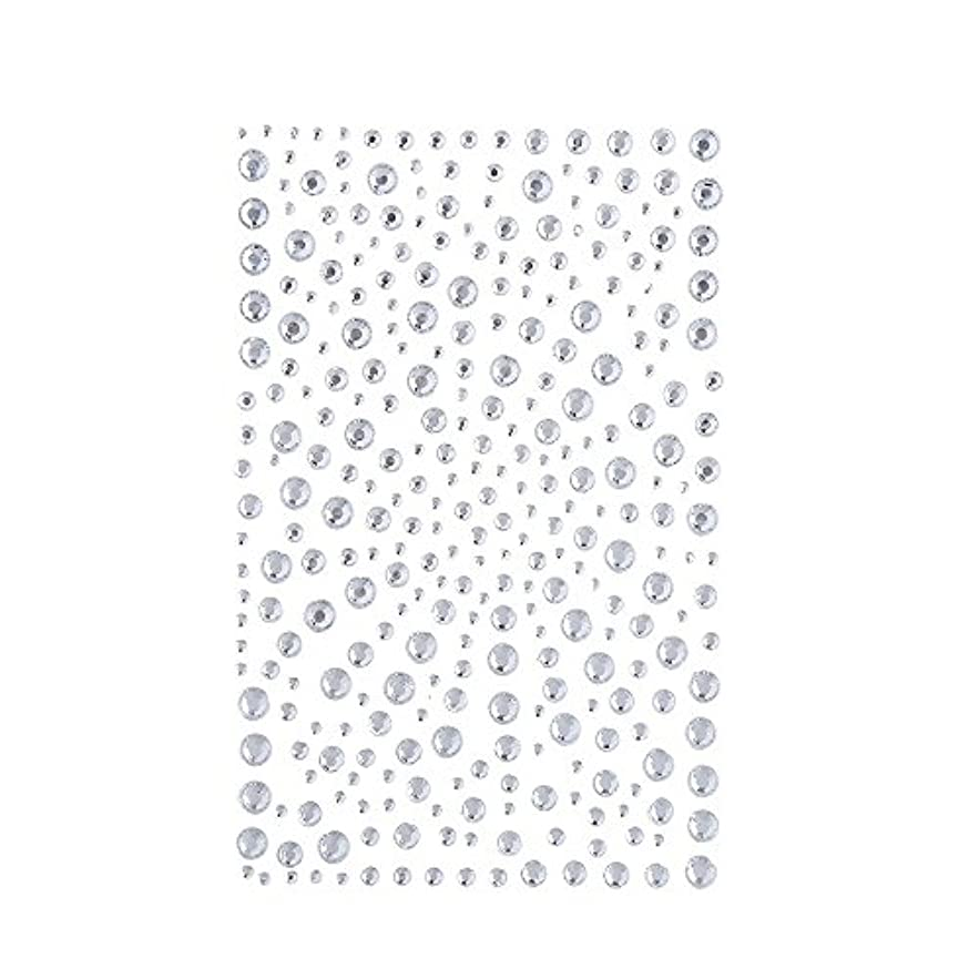 残酷な娯楽精巧なラインストーン 人工ダイヤモンド スワロフスキー ホットフィックス 325粒 (白)