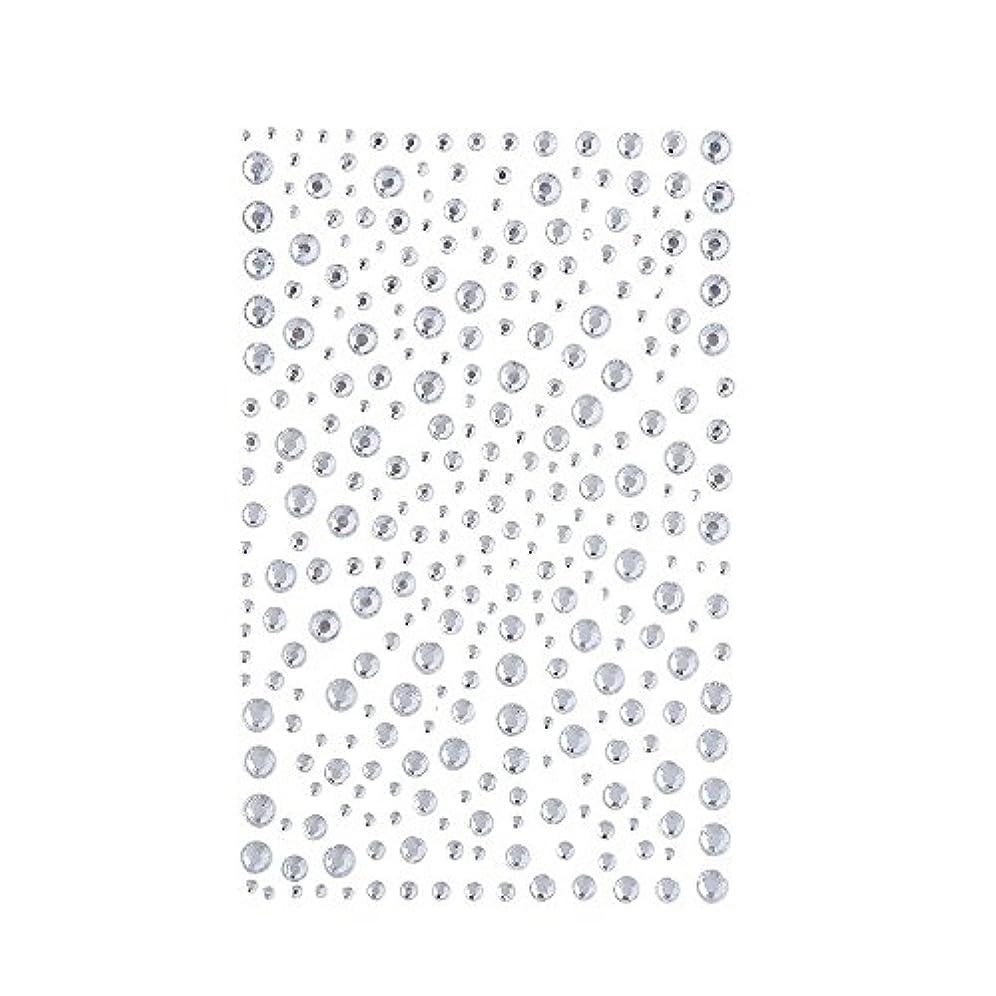 国旗シェーバー到着するラインストーン 人工ダイヤモンド スワロフスキー ホットフィックス 325粒 (白)