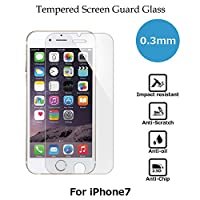 CASE FACTORY by nuglas Screen protector TEMPERED GLASS for iPhone8/7 日本製(AGC旭硝子製)ガラス使用 硬度9H 厚さ0.3mm 2.5Dラウンドエッジ 02tp7