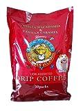 ライオンコーヒー ドリップパック30パック バニラマカダミア バニラキャラメル ハワイアンコーヒー lion coffee
