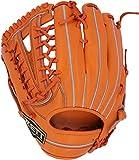 ZETT(ゼット) 軟式野球 ネオステイタス グラブ (グローブ) 新軟式ボール対応 外野手用 オレンジ(5600) 左投げ用 BRGB31917