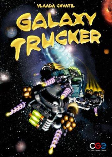 ギャラクシートラッカー (Galaxy Trucker) ドイツ語版 日本語説明書付 ボードゲーム