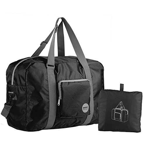 WandF 旅行超軽量バックフォールディングバッグ ポケッタブルボストンバッグ 折りたたみ トラベルバッグ 超軽量バッグ ショルダバック
