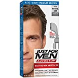 Just For Men AutoStop Men's Hair Color, Light Medium Brown