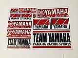 TEAM YAMAHA YAMAHA RACING SPORTS ヤマハレーシング 旧ロゴ オールドタイプ ステッカーシート シール デカールシート