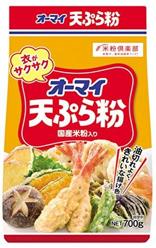 オーマイ 天ぷら粉 袋700g