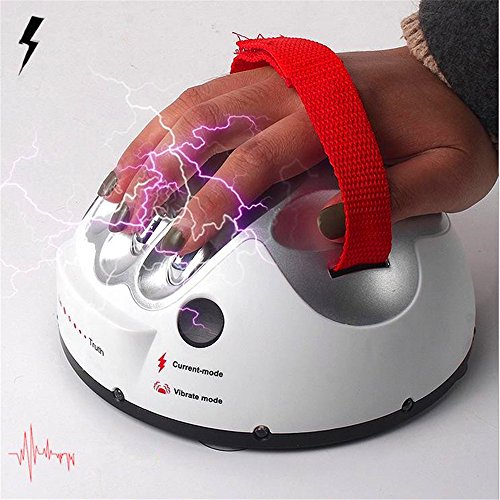 Electric Shocking Liar Game Lie Detector