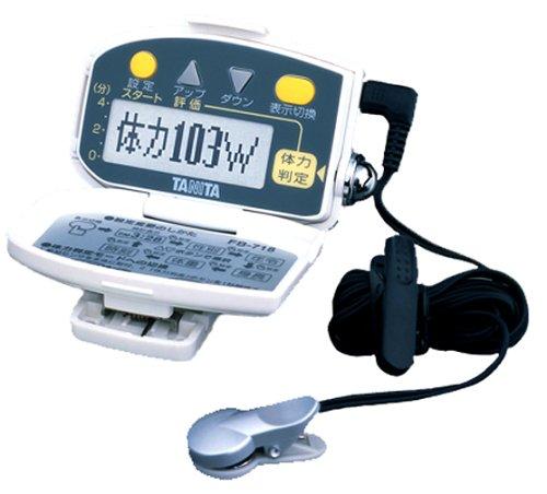 タニタ(TANITA) 体力判定機能付き歩数計 ホワイト FB-718-WH