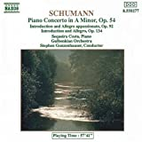 Piano Concerto / Introduction & Allegro by Schumann (1992-07-17)