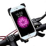 ALLROADS バイク自転車スマホ ホルダー iPhone 6S Plus固定用マウントキット 多機種対応 360度回転 脱落防止