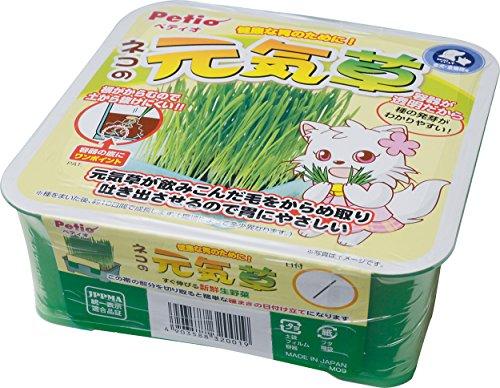 ペティオ (Petio) 猫用おやつ ネコの元気草 125g
