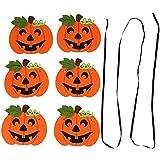 ハロウィーンバナー ハロウィン吊り飾り 引っ張り旗 装飾用具 不織布 バングバナー パーティー カボチャ ハロウィン お祭り お祝いバナー インテリア 約2.1m