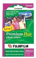 FujiFilm Inkjet Premium Plus Paper Glossy 4 x 6 (20) by Fujifilm