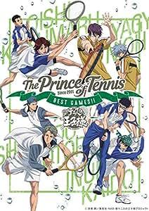 【Amazon.co.jp限定】テニスの王子様 BEST GAMES!! 乾・海堂 vs 宍戸・鳳/大石・菊丸 vs 仁王・柳生  (描き下ろしイラスト使用A3クリアポスター付) [DVD]