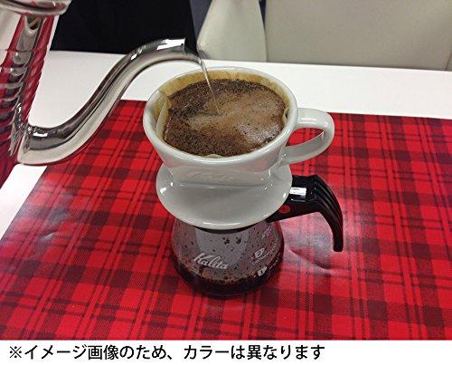 カリタ 陶器製コーヒードリッパー 102-ロト(2~4人用) ブラウン #02003