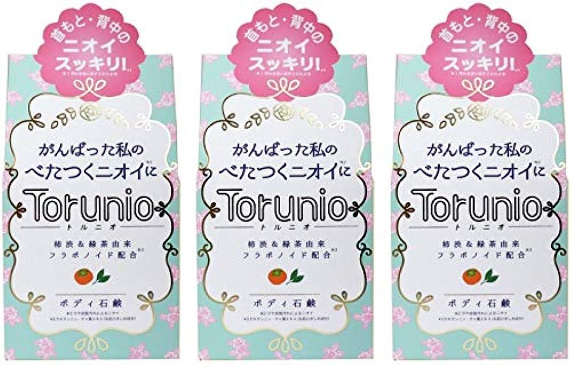 メトロポリタン平行距離【まとめ買い】Torunio(トルニオ)石鹸 100g【×3個】